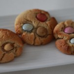 Cookies cacahuètes et smarties (au Thermomix)